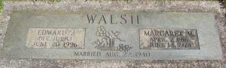 WALSH, EDWARD J - Marion County, Oregon | EDWARD J WALSH - Oregon Gravestone Photos