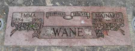 WANE, EMILY ELVINA - Marion County, Oregon | EMILY ELVINA WANE - Oregon Gravestone Photos