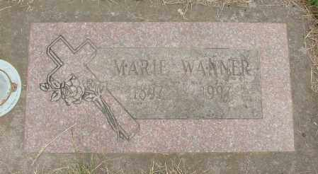 WANNER, MARIE - Marion County, Oregon | MARIE WANNER - Oregon Gravestone Photos