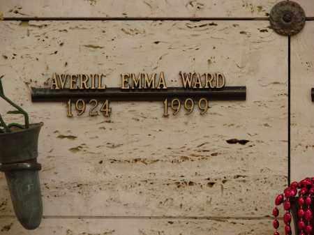 WARD, AVERIL EMMA - Marion County, Oregon | AVERIL EMMA WARD - Oregon Gravestone Photos