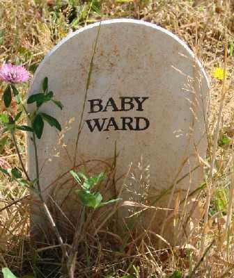 WARD, BABY - Marion County, Oregon | BABY WARD - Oregon Gravestone Photos