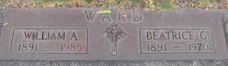 WARD, WILLIAM A - Marion County, Oregon | WILLIAM A WARD - Oregon Gravestone Photos