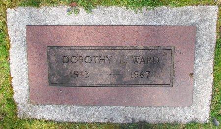 WARD, DOROTHY L - Marion County, Oregon | DOROTHY L WARD - Oregon Gravestone Photos