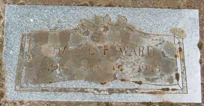 WARD, HAZEL E - Marion County, Oregon | HAZEL E WARD - Oregon Gravestone Photos