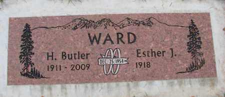WARD, H BUTLER - Marion County, Oregon | H BUTLER WARD - Oregon Gravestone Photos