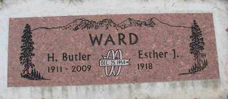 WARD, ESTHER J - Marion County, Oregon | ESTHER J WARD - Oregon Gravestone Photos