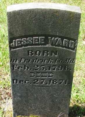 WARD, JESSEE - Marion County, Oregon | JESSEE WARD - Oregon Gravestone Photos