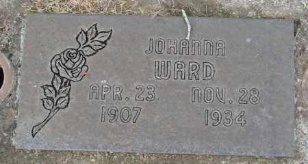 WARD, JOHANNA G - Marion County, Oregon | JOHANNA G WARD - Oregon Gravestone Photos
