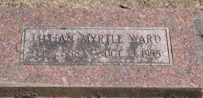 WARD, LILLIAM MYRTLE - Marion County, Oregon | LILLIAM MYRTLE WARD - Oregon Gravestone Photos