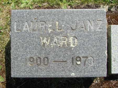 WARD, LAUREL - Marion County, Oregon | LAUREL WARD - Oregon Gravestone Photos