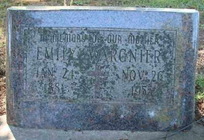 WARGNIER, EMILY - Marion County, Oregon | EMILY WARGNIER - Oregon Gravestone Photos