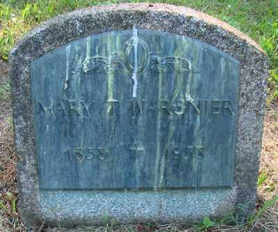 WARGNIER, MARY T - Marion County, Oregon | MARY T WARGNIER - Oregon Gravestone Photos