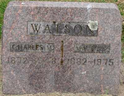 WATSON, CHARLES M - Marion County, Oregon   CHARLES M WATSON - Oregon Gravestone Photos