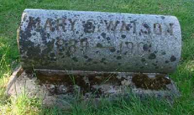WATSON, MARY S - Marion County, Oregon | MARY S WATSON - Oregon Gravestone Photos