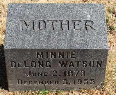 WATSON, MINNIE - Marion County, Oregon | MINNIE WATSON - Oregon Gravestone Photos