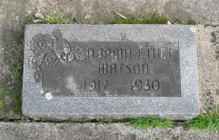 WATSON, NORMA ETHEL - Marion County, Oregon | NORMA ETHEL WATSON - Oregon Gravestone Photos