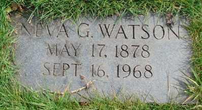 WATSON, NEVA G - Marion County, Oregon | NEVA G WATSON - Oregon Gravestone Photos