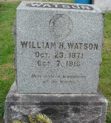 WATSON, WILLIAM H - Marion County, Oregon | WILLIAM H WATSON - Oregon Gravestone Photos