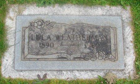 WEATHERMAN, LULA - Marion County, Oregon | LULA WEATHERMAN - Oregon Gravestone Photos