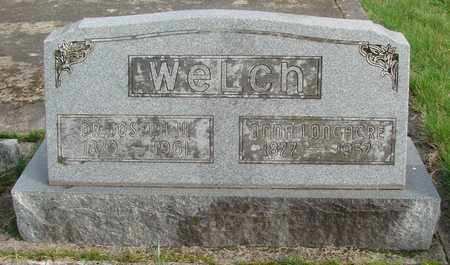 WELCH, ANNA HARRIELD - Marion County, Oregon | ANNA HARRIELD WELCH - Oregon Gravestone Photos