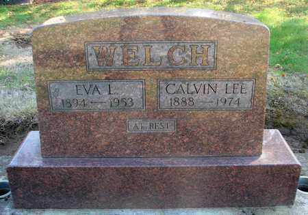 WELCH, EVA L - Marion County, Oregon | EVA L WELCH - Oregon Gravestone Photos