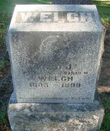WELCH, FRED JOHN - Marion County, Oregon | FRED JOHN WELCH - Oregon Gravestone Photos