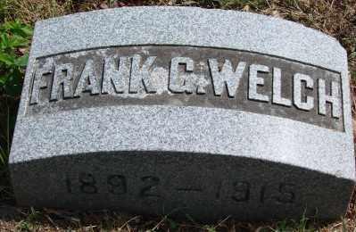 WELCH, FRANK G - Marion County, Oregon | FRANK G WELCH - Oregon Gravestone Photos