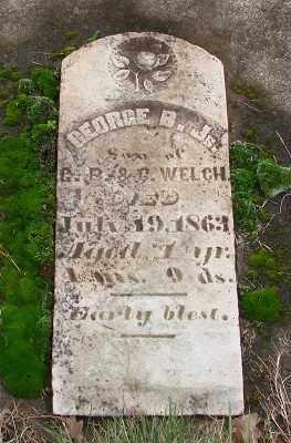 WELCH, GEORGE B - Marion County, Oregon | GEORGE B WELCH - Oregon Gravestone Photos