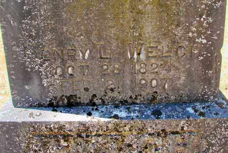 WELCH, HENRY L - Marion County, Oregon   HENRY L WELCH - Oregon Gravestone Photos