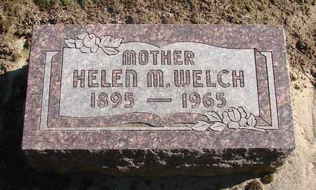 WELCH, HELEN M - Marion County, Oregon | HELEN M WELCH - Oregon Gravestone Photos
