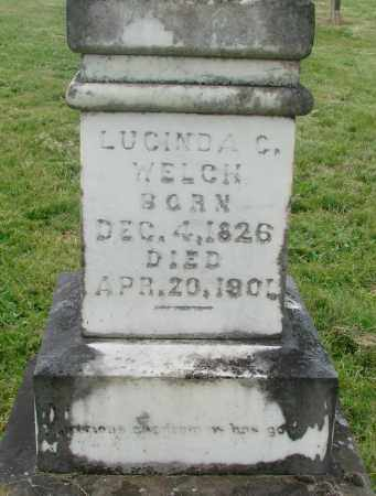 WELCH, LUCINDA C - Marion County, Oregon | LUCINDA C WELCH - Oregon Gravestone Photos