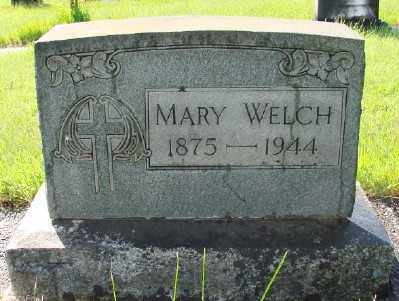 WELCH, MARY - Marion County, Oregon | MARY WELCH - Oregon Gravestone Photos