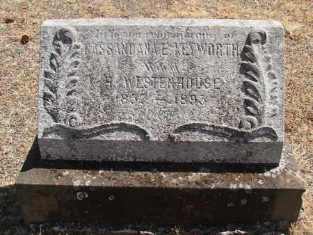 KEYWORTH WESTENHOUSE, CASSANDRA E - Marion County, Oregon | CASSANDRA E KEYWORTH WESTENHOUSE - Oregon Gravestone Photos