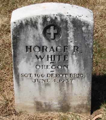 WHITE (WWI), HORACE R - Marion County, Oregon | HORACE R WHITE (WWI) - Oregon Gravestone Photos