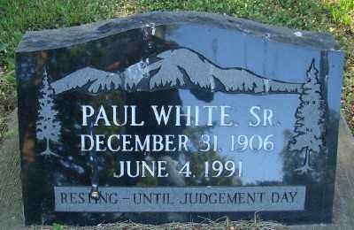 WHITE, PAUL - Marion County, Oregon | PAUL WHITE - Oregon Gravestone Photos