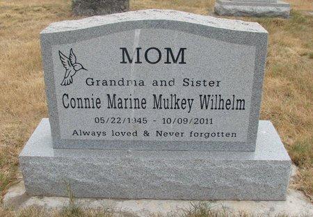 MULKEY, CONNIE MARINE - Marion County, Oregon | CONNIE MARINE MULKEY - Oregon Gravestone Photos