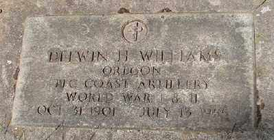 WILLIAMS (WWII), DELWIN H - Marion County, Oregon | DELWIN H WILLIAMS (WWII) - Oregon Gravestone Photos