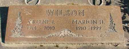 IRWIN WILSON, ARLENE I - Marion County, Oregon | ARLENE I IRWIN WILSON - Oregon Gravestone Photos