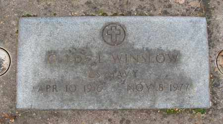 WINSLOW (SERV), CLYDE L - Marion County, Oregon   CLYDE L WINSLOW (SERV) - Oregon Gravestone Photos