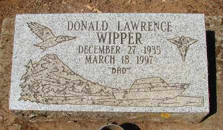 WIPPER, DONALD LAWRENCE - Marion County, Oregon | DONALD LAWRENCE WIPPER - Oregon Gravestone Photos