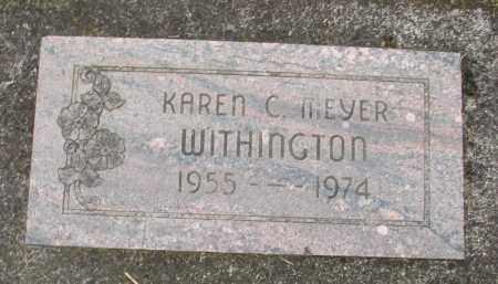 MEYER, KAREN C - Marion County, Oregon | KAREN C MEYER - Oregon Gravestone Photos