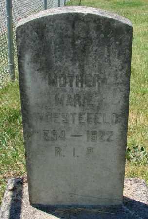 WOESTEFELD, MARIE - Marion County, Oregon | MARIE WOESTEFELD - Oregon Gravestone Photos