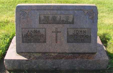 WOLF, JOHN - Marion County, Oregon | JOHN WOLF - Oregon Gravestone Photos