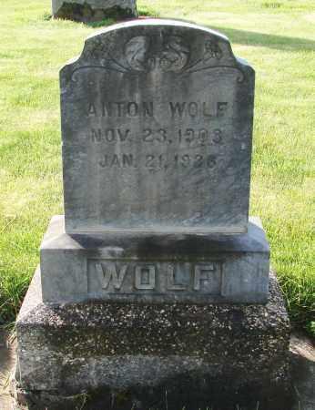WOLF, ANTON - Marion County, Oregon | ANTON WOLF - Oregon Gravestone Photos