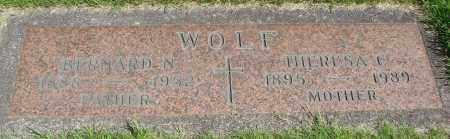 WOLF, BERNARD N - Marion County, Oregon | BERNARD N WOLF - Oregon Gravestone Photos