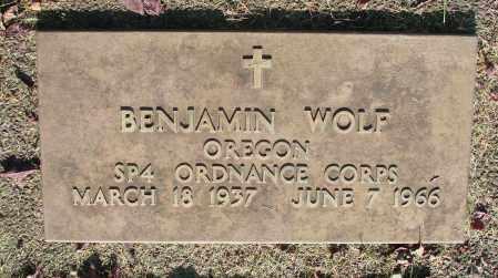 WOLF, BENJAMIN - Marion County, Oregon   BENJAMIN WOLF - Oregon Gravestone Photos