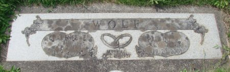 WOLF, PAULINE R - Marion County, Oregon   PAULINE R WOLF - Oregon Gravestone Photos