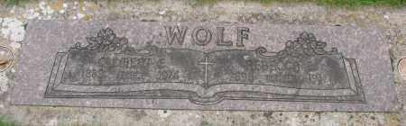 WOLF, REBECCA E - Marion County, Oregon   REBECCA E WOLF - Oregon Gravestone Photos