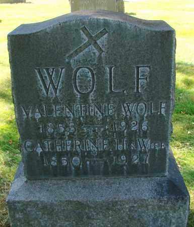 WOLF, VALENTINE - Marion County, Oregon | VALENTINE WOLF - Oregon Gravestone Photos