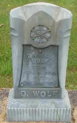 WOLF, DANIEL ALVIN - Marion County, Oregon   DANIEL ALVIN WOLF - Oregon Gravestone Photos